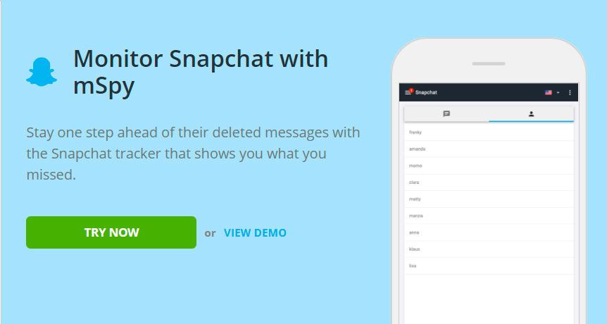 Track snapchat user