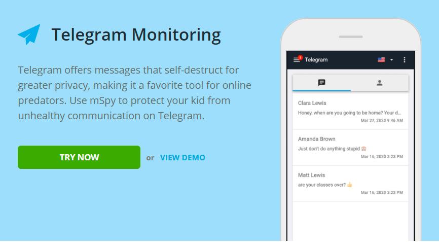 Telegram monitoring for Google Pixel 2